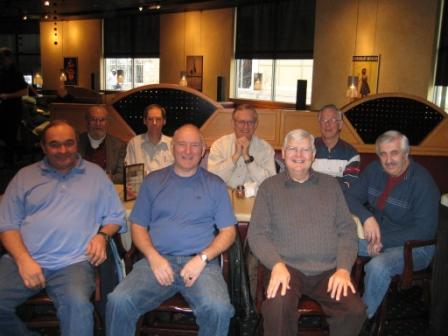 Don Moore, Steve Kelly, Keith Olson, Pat Dukes, Graeme Nesbitt, Terry Parr, Mike Taylor, Orm Hennessy